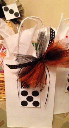 Halloween bunco gifts prizes