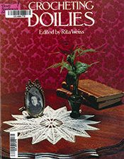 Crocheting Doilies | Edited by Rita Weiss | Purple Kitty Vintage Crochet Patterns, Vintage Knitting, Craft Patterns, Pattern Books, Irish Crochet, Crochet Doilies, Crochet Projects, Snowflakes, Needlework