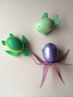 Sea Creature Easter Eggs!