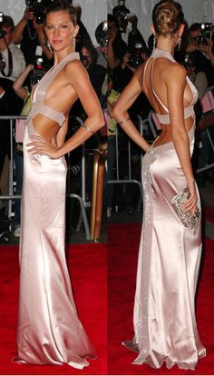 When your Gisele and people don't like you, this is what you do. You wear THIS dress and you smile and wave.