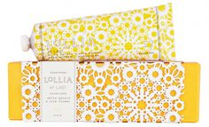 packaging design yellow