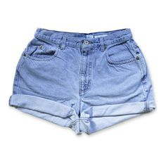Designer Clothes, Shoes & Bags for Women Denim Cutoff Shorts, Waisted Denim, Denim Jeans, Jean Shorts, Vintage High Waisted Shorts, High Fashion Outfits, Cut Off Jeans, Vintage Denim, Polyvore Outfits