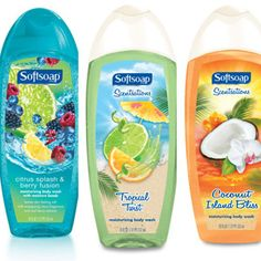 Enter for a chance to win three fragrant body washes from Softsoap®!    Twenty lucky winners will each receive a Softsoap® prize package that consists of one 18-fl. ounce bottle of each of the following scents: Coconut Island Bliss, Tropical Twist and Citrus Splash & Berry Fusion. (Approx. retail value: $10.50); Softsoap.com #win #free #giveaways #sweepstakes