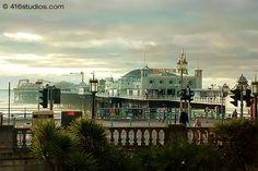 Brighton Palace Pier at sundown - 416studios.com