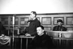 24 April 1947: Hans Biebow, Chief Administrator of Lodz Ghetto in Occupied Poland, Executed by Hanging.