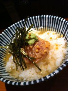 Japanese food / 鯛茶漬け