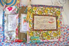 special hand-written family recipe transferred onto potholder