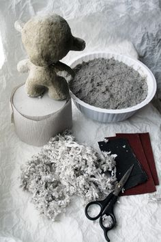 PROJECT ROOM ART ATELIER & SHOP: Best recipe papier-mache clay. Master class. DIY