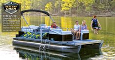 Lowe 2020 SS Series Super Sport Pontoons are the hottest & most versatile combination of party, watersport, fishing, and cruising boats on the water! Lowe Boats, Pontoon Boats For Sale, Fishing Boats For Sale, Deck Boats For Sale, Aluminum Jon Boats, Lake Camping, Family Adventure, Lowes, Hunting