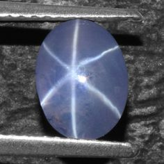 2.08 Cts Natural 6 Rays Sharp Blue Star Sapphire Unheated Oval Cab Video Burma $ #Unbranded