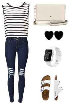 """Untitled #8"" by marleykays ❤ liked on Polyvore featuring Kate Spade, TravelSmith and Dollydagger"