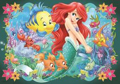 Beautiful picture of Ariel, good resolution too! Ariel Pictures, Mermaid Pictures, Ariel Mermaid, Ariel The Little Mermaid, Disney Cartoon Characters, Disney Cartoons, Little Mermaid Drawings, Ariel Under The Sea, Little Mermaid Sebastian