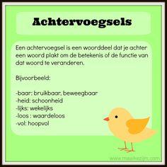 Learn Dutch, Dutch Language, Home Activities, School Hacks, Kids Learning, Teacher, Tips, Languages, Poster