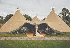 English Tipi Wedding | Howell Jones Photography | Bridal Musings Wedding Blog
