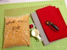 DIY cornhole bags