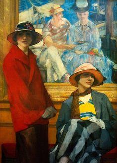 Georges Antoine van Zevenberghen: Le Manet, 1922