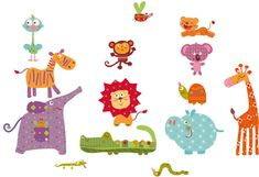 animales selva infantil - Buscar con Google