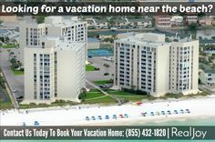 Florida Beach Front Vacation Rentals
