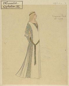 Costume design for Hamlet