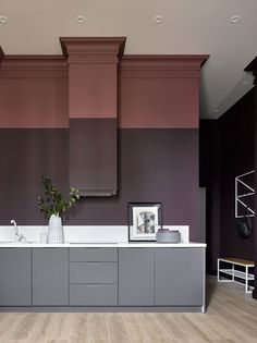 Top Kitchen Paint Color Ideas For The Heart Of Your Home TAG: Kitchen paint colors, Painting kitchen cabinets ideas, Kitchen color ideas Design Hall, Küchen Design, Interior Design Inspiration, Home Interior Design, Interior Decorating, Interior Paint, Kitchen Ikea, Rustic Kitchen, Kitchen Flooring