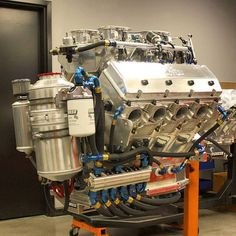 903CI Nitrous Motor! Thing is massive!