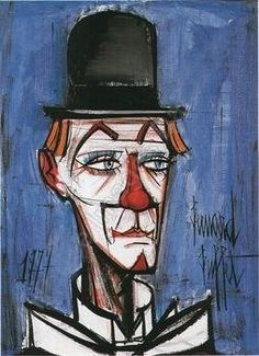 Le clown _ Bernard Buffet