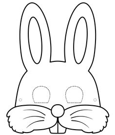 easter bunny mask template mask template bunny mask for kids - Happy Easter Sunday Bunny Crafts, Easter Crafts For Kids, Easter Activities, Preschool Crafts, Colouring Pages, Printable Coloring Pages, Bunny Templates, Animal Mask Templates, Bunny Ears Template