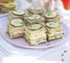 Baby shower food brunch tea sandwiches 61 Ideas for 2019 Bbc Good Food Recipes, Tea Recipes, Picnic Recipes, Sandwich Recipes, Sandwich Croque Monsieur, Tea Party Sandwiches, Cucumber Sandwiches, Bridal Shower Sandwiches, Sandwiches For Afternoon Tea