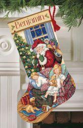 Sweet Dreams Stockings Cross-Stitch Christmas Stocking Kit