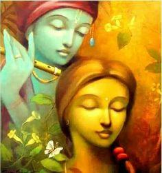 krishna and radha on swing mural paintings Hare Krishna, Krishna Love, Indian Artwork, Indian Art Paintings, Radha Krishna Images, Krishna Radha, Hanuman Chalisa, Bhagavad Gita, Avatar