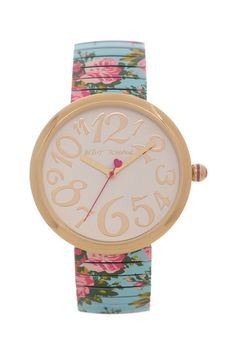 Floral Watch / betsey johnson