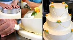 DIY Wedding Cake: Make it yourself video demo and recipe