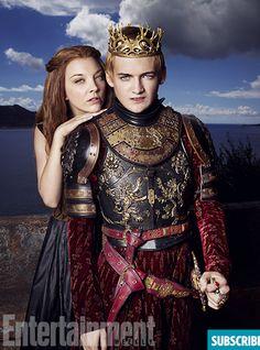 'Game of Thrones' Season 4: Joffrey and Margaery Portraits