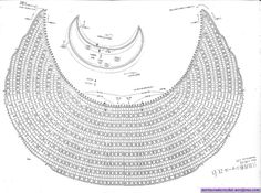 Finally!! I found the charted pattern for the Crescent Shawl!!!