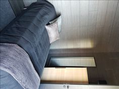With Laatupaneeli's Finnish interior panels you can make even demanding spaces elegant and individual. Grey, Interior, Gray, Design Interiors, Interiors
