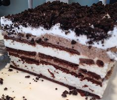 My Pinterest Reality: DIY Ice cream Cake...I swear!