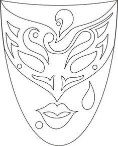 45 maszk sablon | PaGi Decoplage