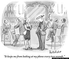 Top 20 des dessins satiriques sur notre addiction aux smartphones (on est accro)