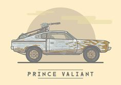 Prince Valiant - Mad Max: Fury Road - Stuart Shaw