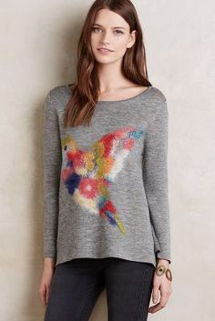 Fly Away Pullover #Anthropologie