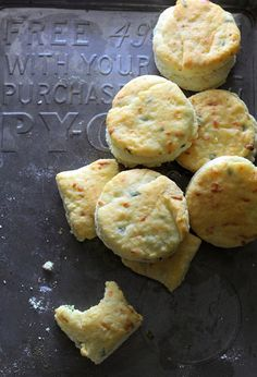 Smoked Gouda and Chive Buttermilk Biscuits - Southern Soufflé