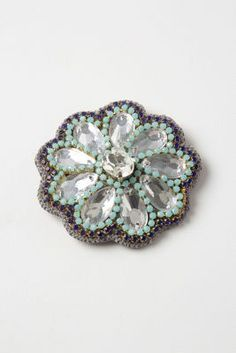 Mirrored Crystal Clip