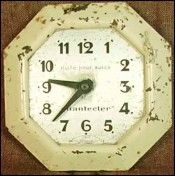 Cute, antique clock!