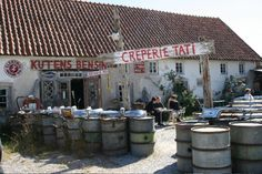 Kutens Bensin café Gotland The best crêperie you can imagine! at beautiful island of Fårö/Gotland/Sweden Great Friends, Beautiful Islands, Travel Style, Places To Go, Good Things, Dreams, Vacation, Landscape, Coffee