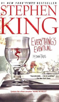 Stephen King Books - Everything's Eventual : 14 Dark Tales~ might look into this one :) i have full dark, no stars in my stephen king book collection and has great short stories in it so hope this would be the same Short Ghost Stories, Famous Short Stories, Short Horror Stories, Creepy Stories, I Love Books, Good Books, Books To Read, My Books, Amazing Books