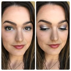 SO MUCH SHIMMAAAAA LOVE The eye makeup in this one!!  Eyes: Splurge Cream Shadow in Dainty and Noble, Liquid Liner in Black & 3D Fiber Lash Mascara Lips: Eyeliner in 'prim' and, lip gloss in 'lovesick' and just a little bit of 'excessive' lipstick!