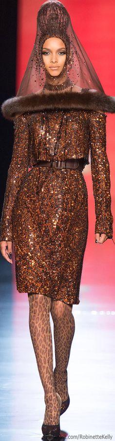 Jean Paul Gaultier Haute Couture   F/W 2013 - stockings.