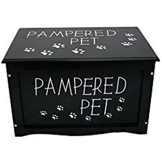Dog Toy Storage Box (Black)