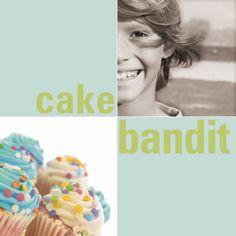 """Zu finden auf http://www.my-little-store.de/osqskn3png5td3bq:119   Wunderschönes Foto-Kunstwerk """"Sweety"""" von KLEIN & KöNIGLICH mit Wunschfoto und Cakebandit-Print in der Größe 40cm x 40cm."""
