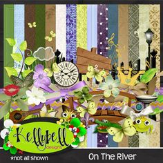 Lisa Campbell Designs: On The River Collection from Kellybell Designs